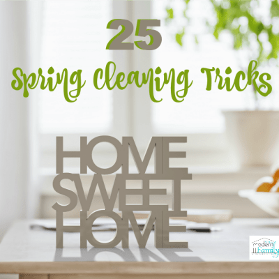 spring cleaning tricks
