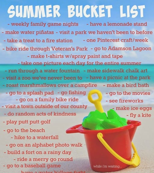 Summer Bucket List preview
