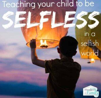 selfless in a selfish world
