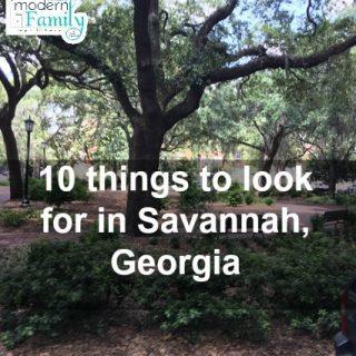 10 reasons that we love Savannah, Georgia