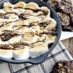 smore-dip-with-chocolate-cookies