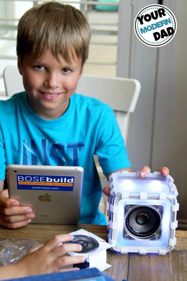 Kitchen Lab Kids diy speaker for the kids - your modern dad