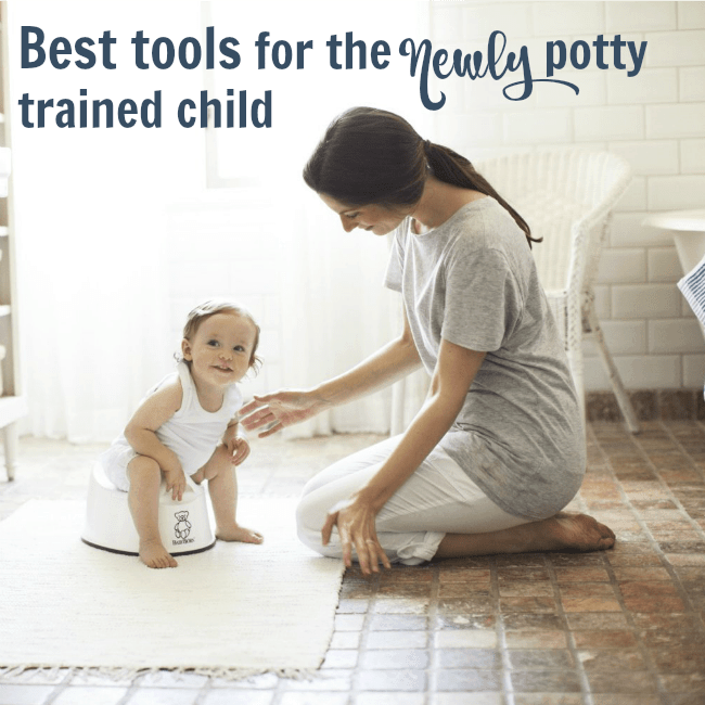 pin for best tools for newly potty trained child
