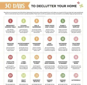 Declutter Challenge - 30 days