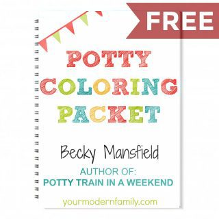 POTTY TRAIN IN A WEEKEND BOOK (physical, digital & audio)