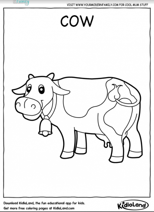 graphic regarding Animal Printable Coloring Pages named Absolutely free farm pets printable coloring sheets - Your Innovative Household