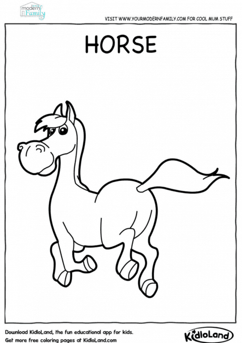 graphic about Animal Printable Coloring Pages identified as No cost farm pets printable coloring sheets - Your Revolutionary Household