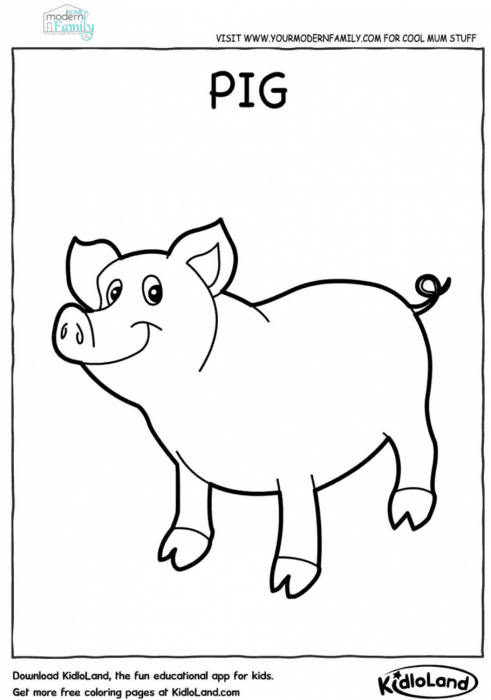graphic regarding Animal Printable Coloring Pages referred to as Free of charge farm pets printable coloring sheets - Your Revolutionary Loved ones