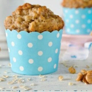 High Protein Crazy Banana Muffins