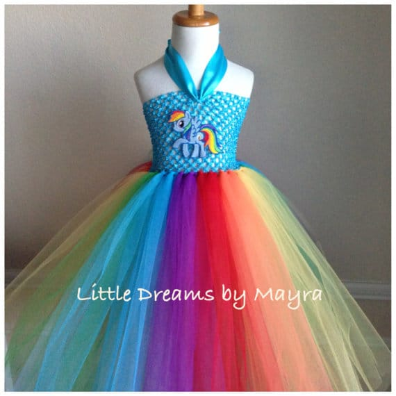 My Little Ponies costume - No Sew TuTu costumes for little girls