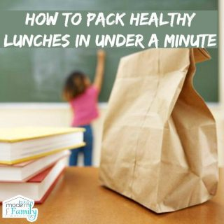 How to pack lunches fast – in less than a minute