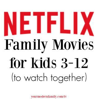 Family – friendly netflix movies for family