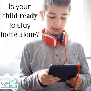 Is your child ready to stay home alone