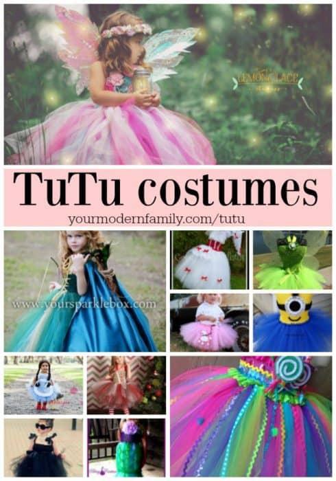 TuTu costumes for little girls