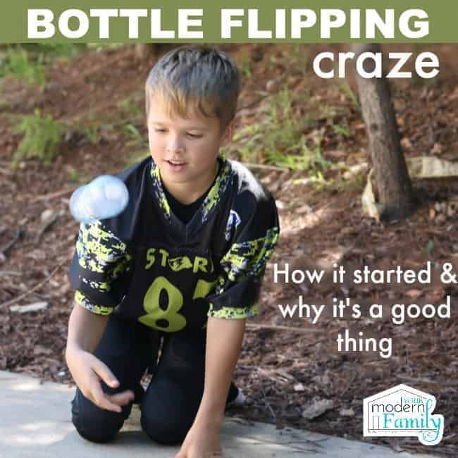 bottle flipping craze