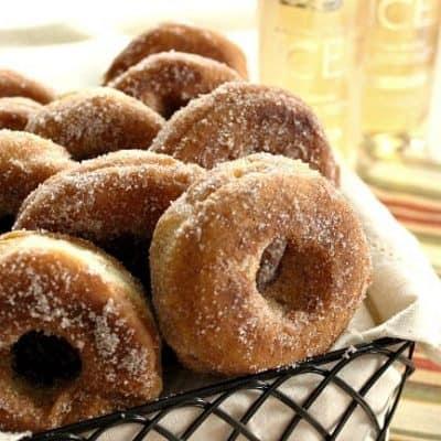 Apple Crisp Doughnuts