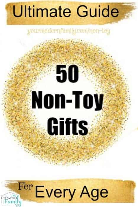Non-Toy Gifts for Kids - Your Modern Family