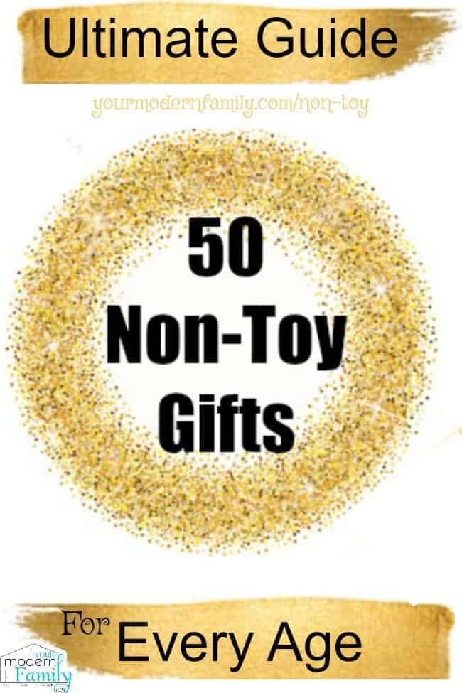 non toy gifts - presents for kids
