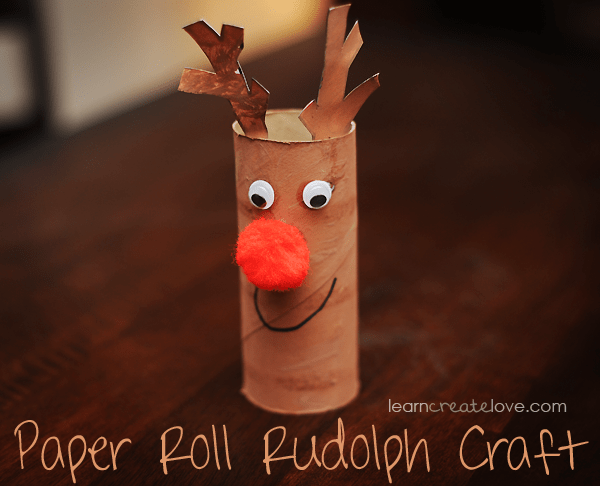 Paper and Reindeer Craft