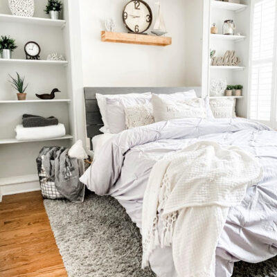 DIY Wall Bed yourmodernfamily