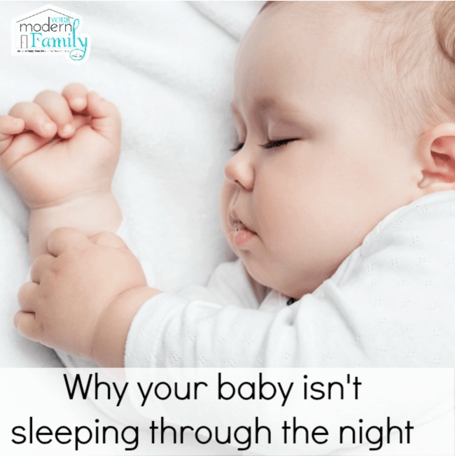 why baby isn't sleeping through the night
