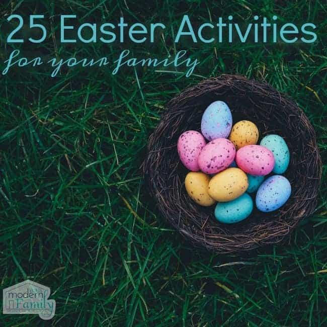 25 Easter Activities