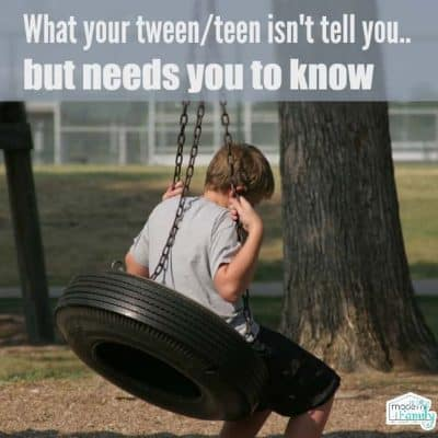 The shocking truth that your tweens & teens aren't telling you