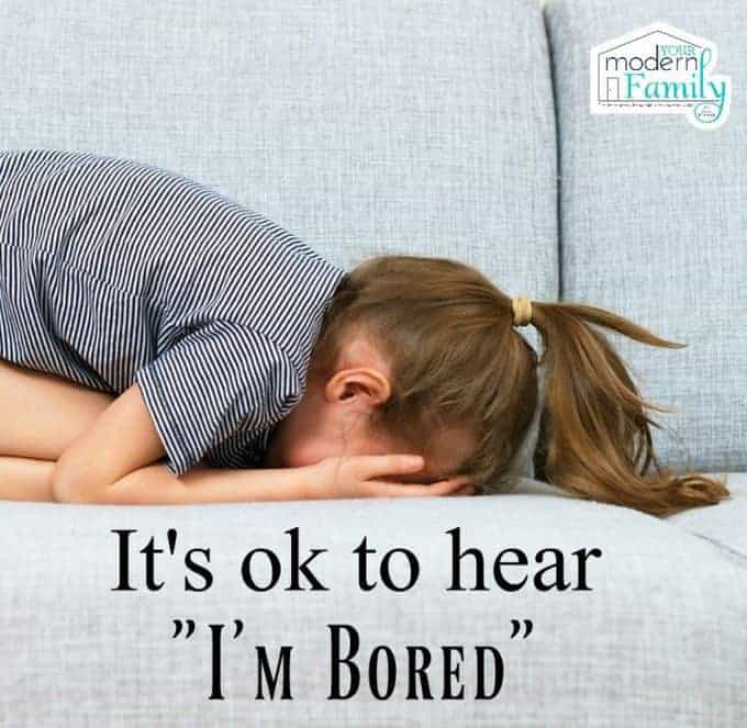 It's ok to be bored