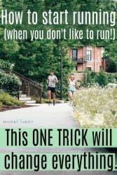 How to Start Running (when