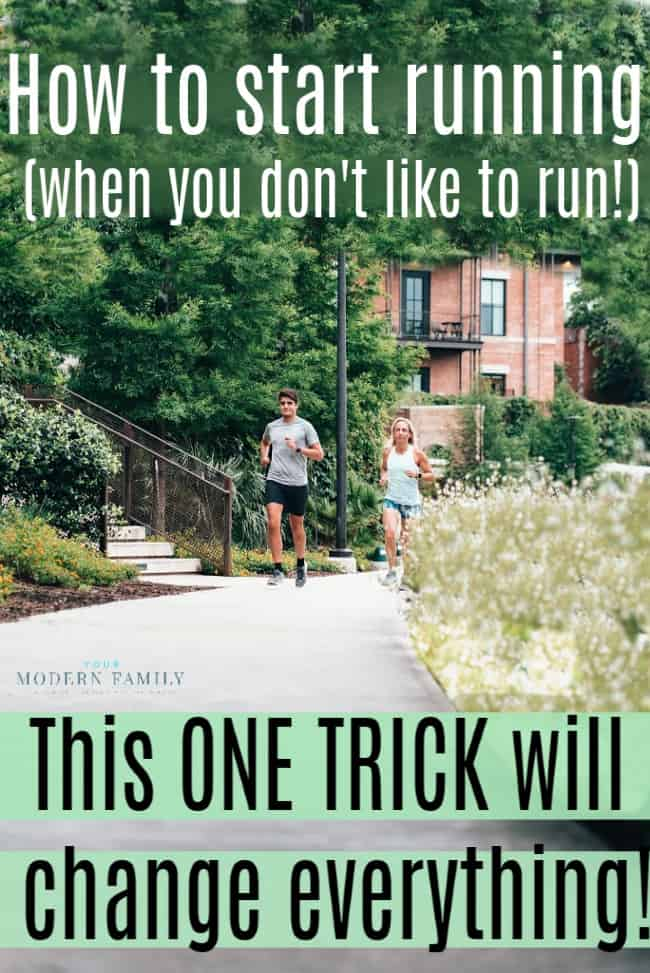 How to Start Running (when