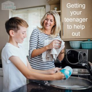 When you have a teenager…