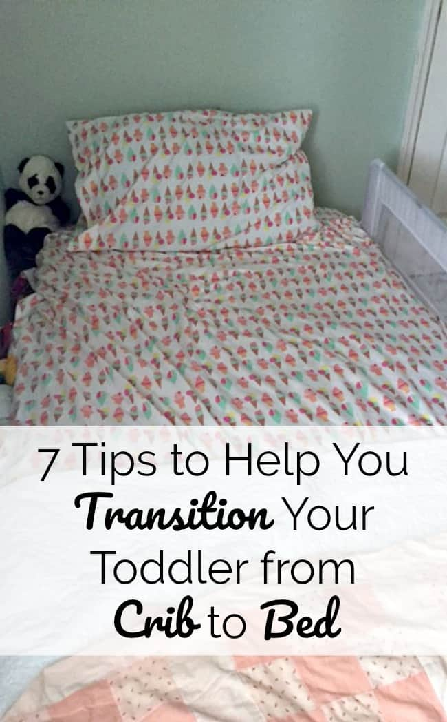 7 Tips to Help your Toddler Transition from a Crib to a Toddler Bed