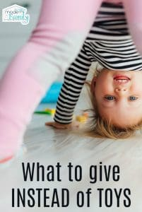 what to give instead of toys