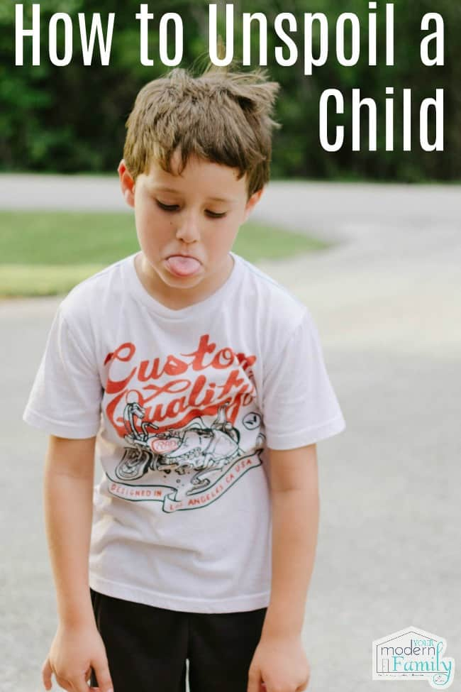 How to Unspoil a Child.    I know that this can be hard, because you don't even realize that it is happening and then BAM… you hear the disrespect in your child's voice & realize... #child #Kbnmoms #parenting #entitled