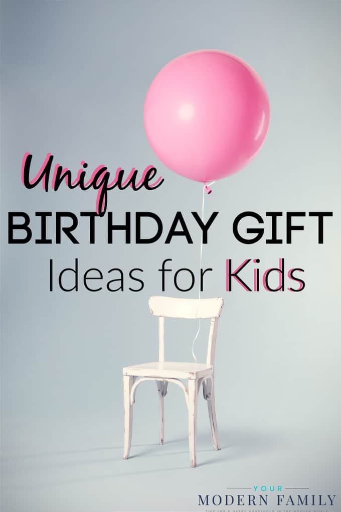 unique birthday gifts for kids
