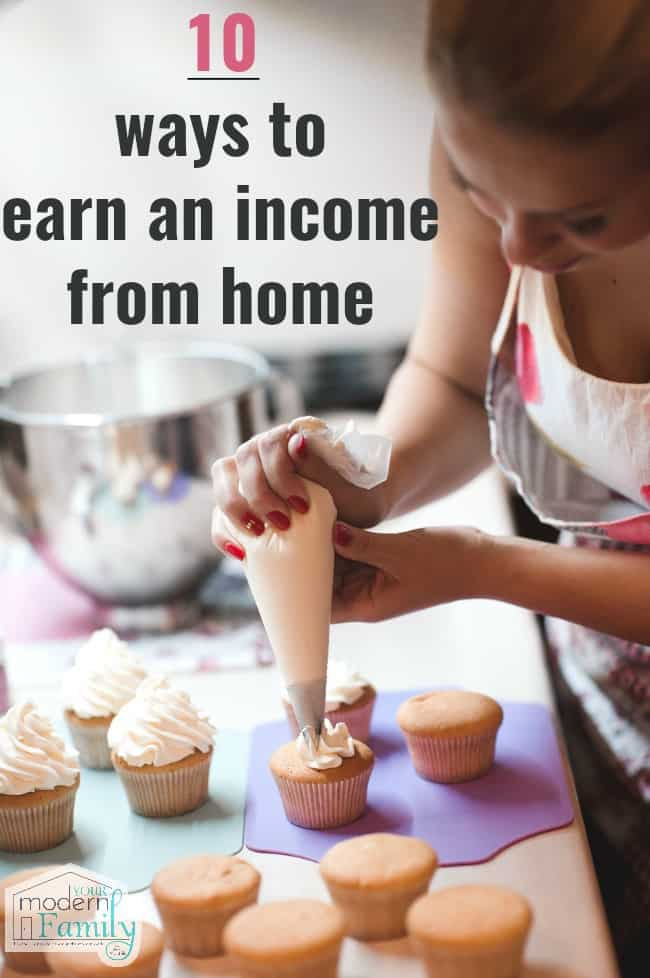 earn an income from home