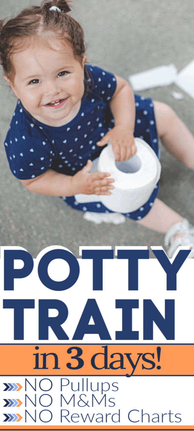 pin for potty training in 3 days