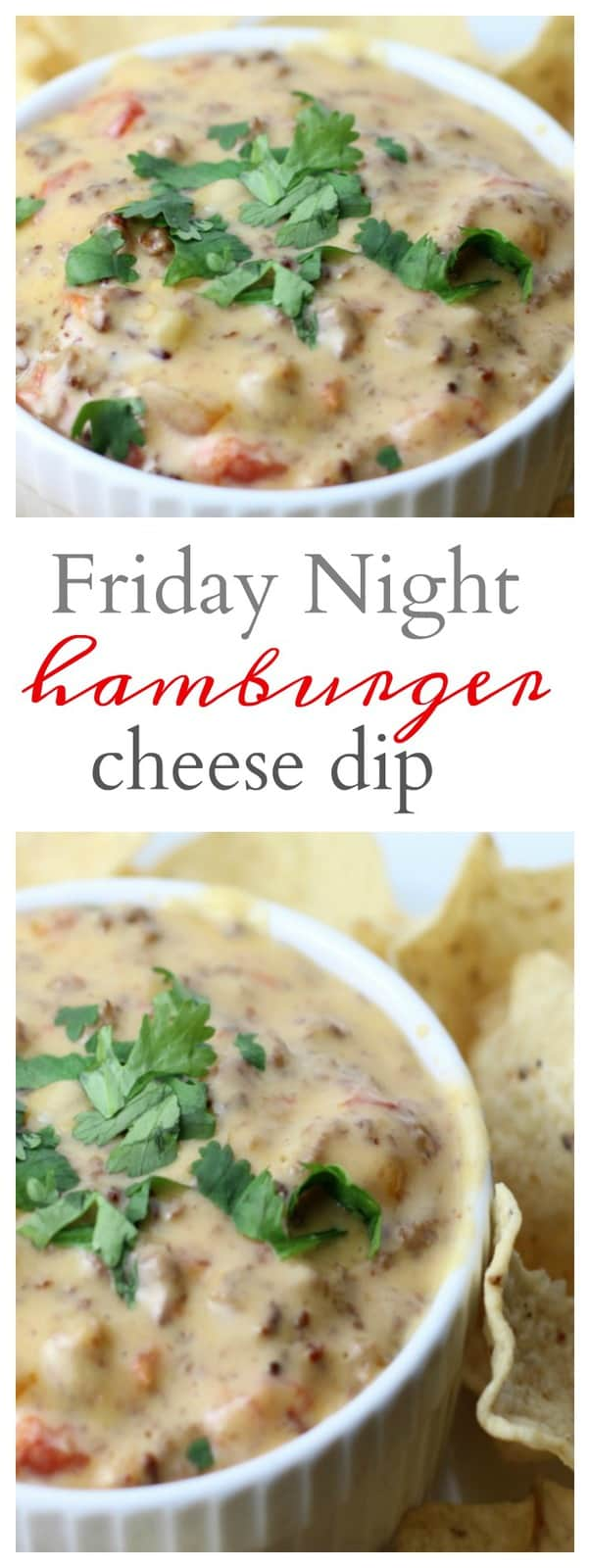 Friday Night Hamburger Dip