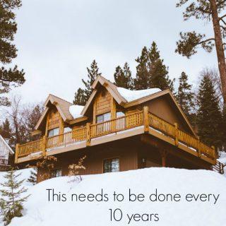 Every ten years…
