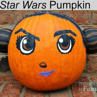 Star Wars Pumpkin