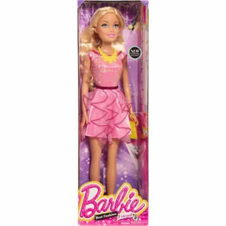 Barbie Doll still in its box.