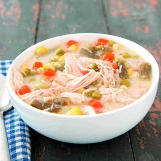 Simple Recipe:  Slow Cooker Chicken Pot Pie Soup