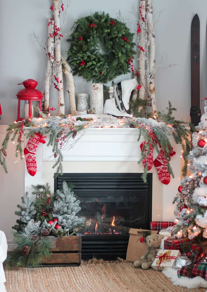 modern farmhouse christmas decor - Farmhouse Christmas