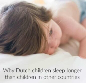 dutch children sleep longer than children in other countries