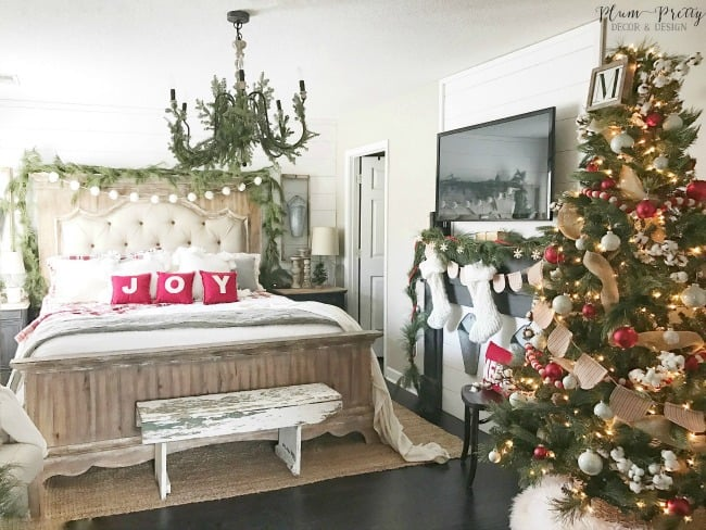 modern farmhouse christmas decor - Farmhouse Christmas Decor