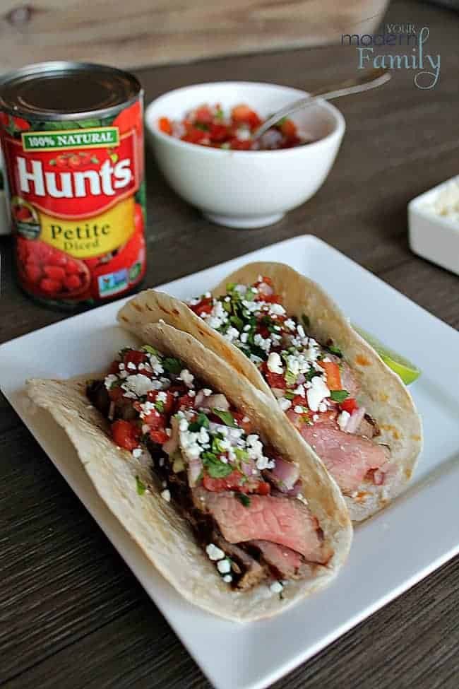 Steak Tacos with Pico de Gallo