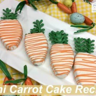 mini carrot cake recipe
