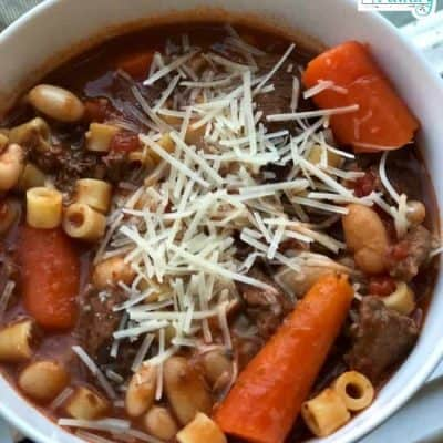 Slow cooker tuscan beef stew