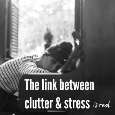 the link between clutter & stress