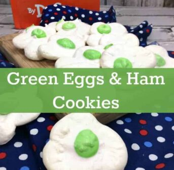 green eggs & ham cookies